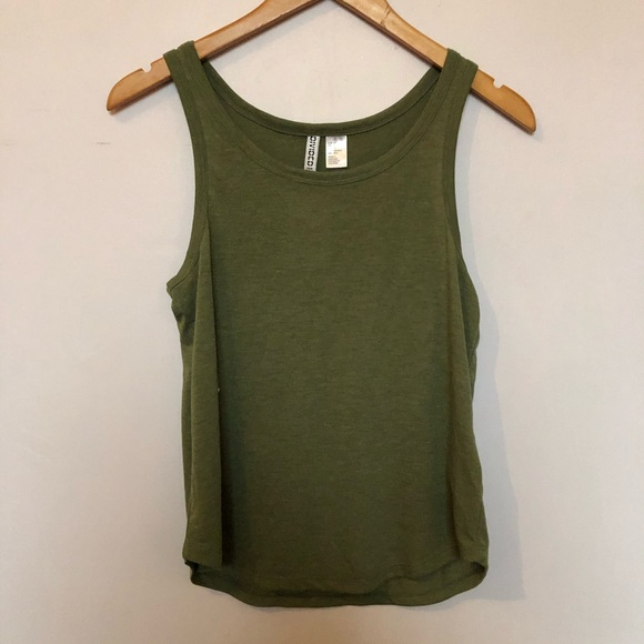 Free with bundle Green tank top